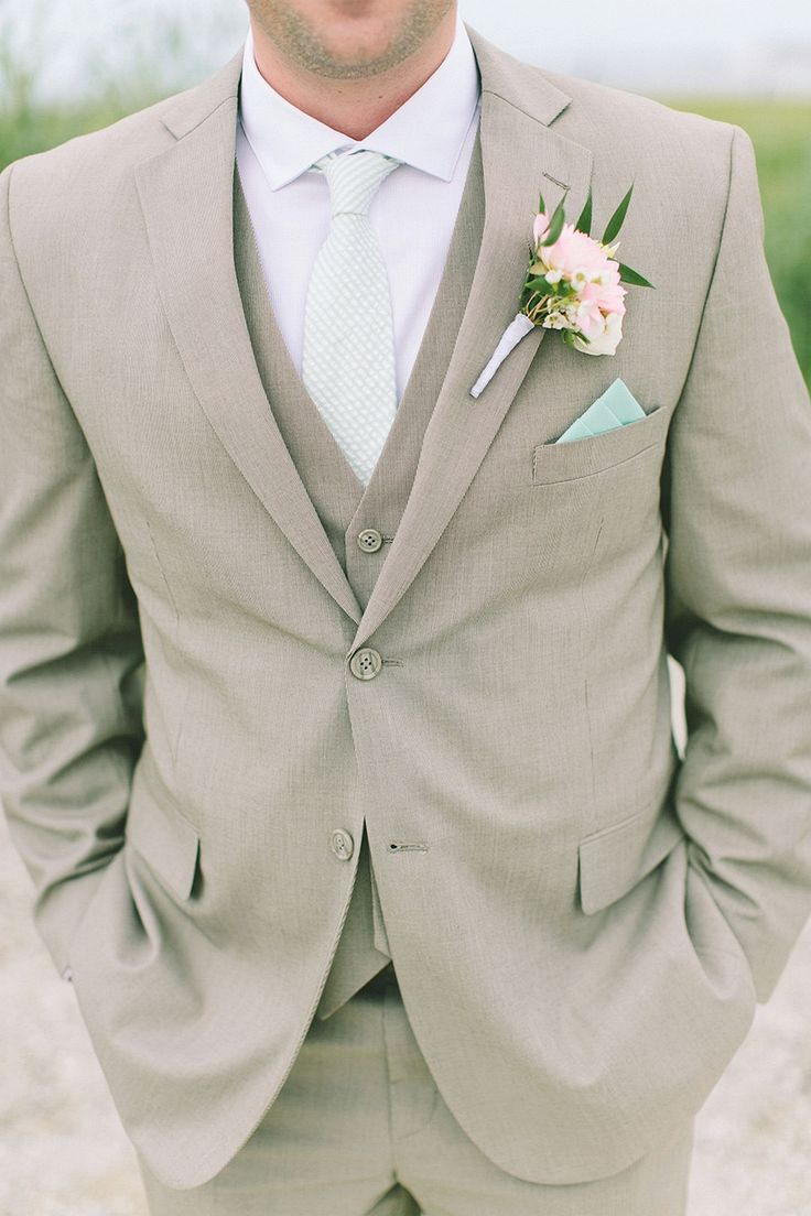 The Best Stylish Beach Wedding Groom Attire : 100+ Cool Ideas https://bridalore.com/2017/07/03/stylish-beach-wedding-groom-attire-100-cool-ideas/