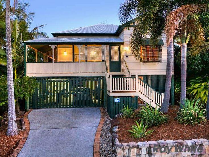 Queenslander home. Garage under house