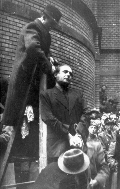 Публичная казнь лидера венгерской партии «Скрещенные стрелы» Ф. Салаши в Будапеште