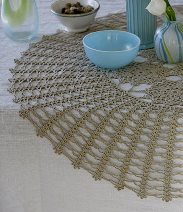 Blondeduge kan man vist ikke få for mange af. Prøv også at bruge dem over en mønstret tekstildug − på f.eks. havebordet.