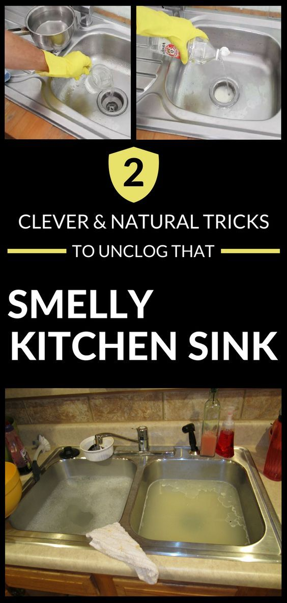 Superb 2 Clever And Natural Tricks To Unclog That Smelly Kitchen Download Free Architecture Designs Xaembritishbridgeorg