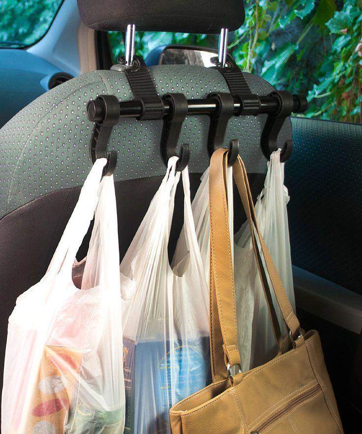 MAXSA Innovations Car Headrest Multi-Hanger - just grab and go....