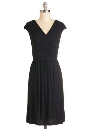 Cheers to You Dress in Black, #ModCloth