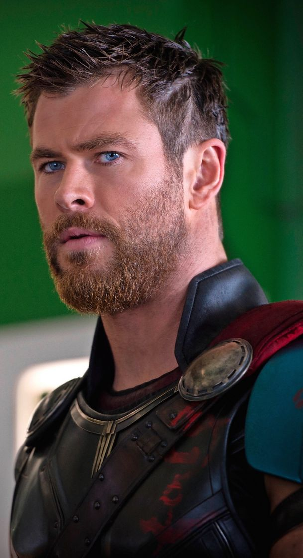 Finally Thor Got A Haircut So Cool Theyre Marvelous Chris