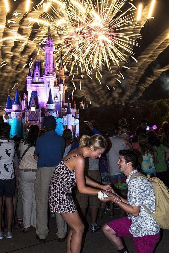 Top Ten Places to Propose at Disney