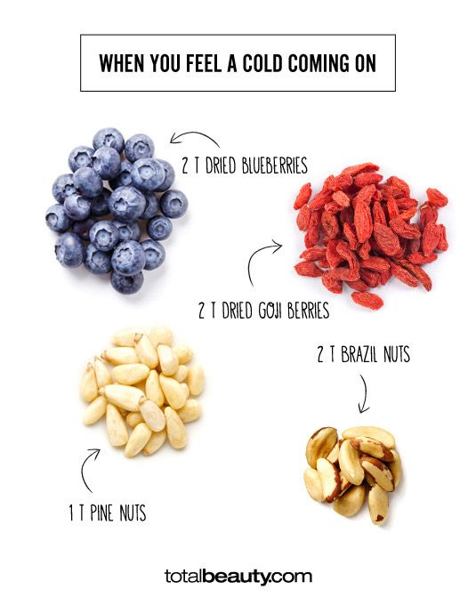 Easy Healthy Snacks: When You Feel a Cold Coming On