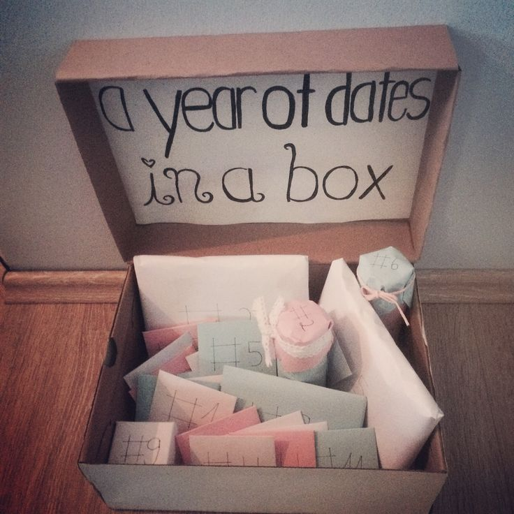 A year of Dates in a box