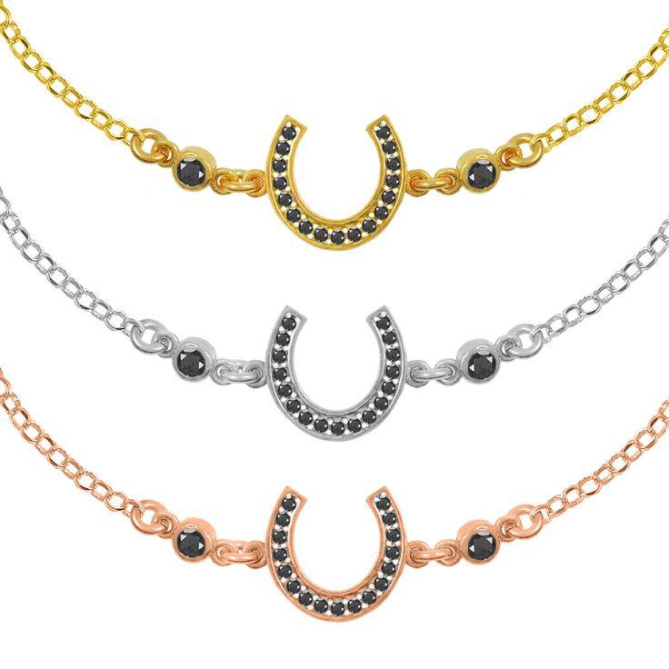 Horseshoe Bracelet Sterling Silver 925,Rose Gold Bracelet,Yellow Gold Bracelet,Tiny Horseshoe,Birthday Gift,Bridesmaid Gift,Lucky Bracelet by AmorAmorSilver on Etsy
