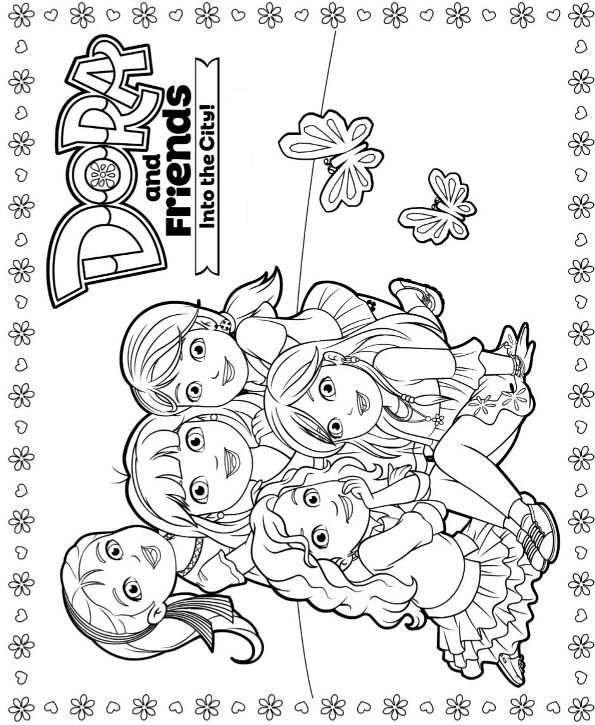 dora and friends 4 (595×7)  dora and friends cute