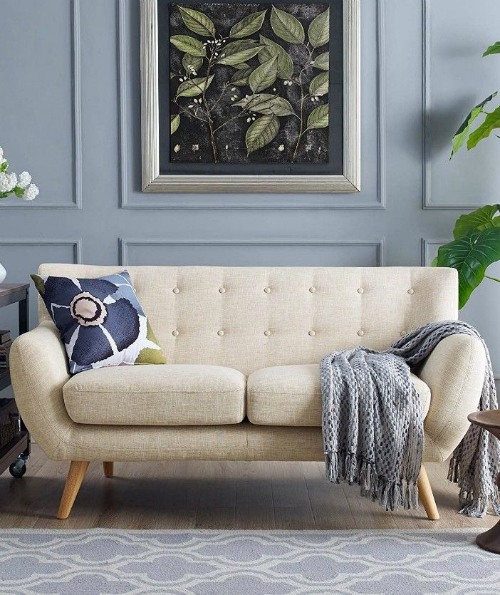 Awe Inspiring 14 Stylish Loveseats For Small Space Dwellers And Cuddlers Ibusinesslaw Wood Chair Design Ideas Ibusinesslaworg