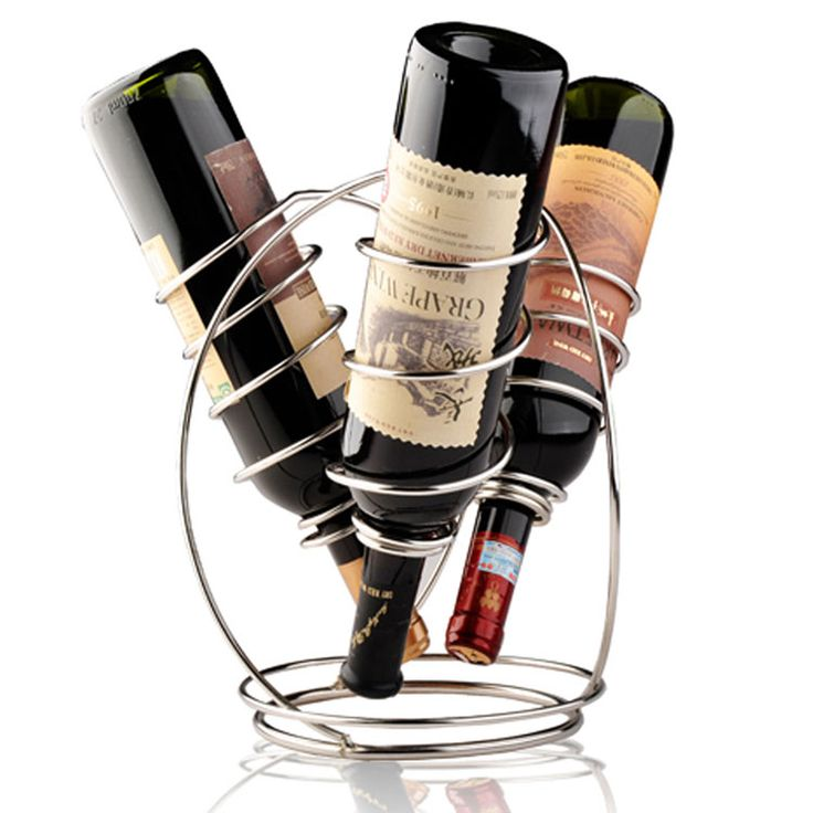 Portabottiglie di vino da tavolo dal design moderno n.27