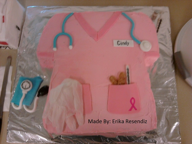 Medical Assisting Recognition Week Cake I Made This Is Soo Cool A Few Of My