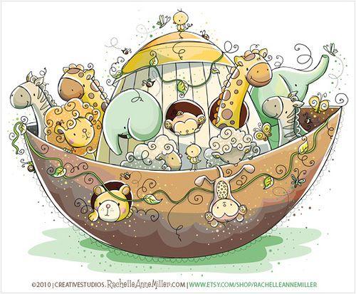 Noah's Ark by Rachelle Anne Miller, via Flickr