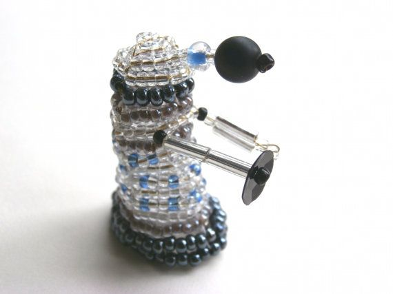Beaded Dalek from Doctor Who by JacksonsBeadwork on Etsy