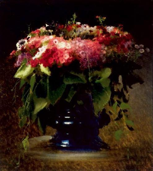 Ivan Kramskoy - Bouquet of Flowers 1884
