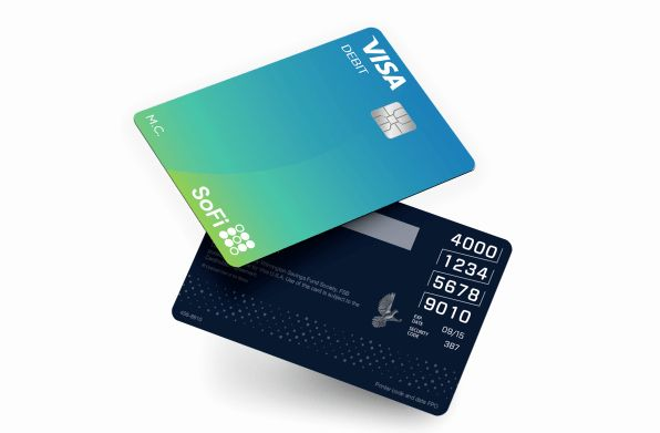 Cool Debit Card Designs Fresh Are You Ready To Ditch Your Bank Sofi Is Betting Its In 2020 Debit Card Design Free Business Card Design Credit Card Design