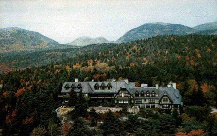 The Eyrie Mt Desert Maine Home Of John Rockefeller Jr