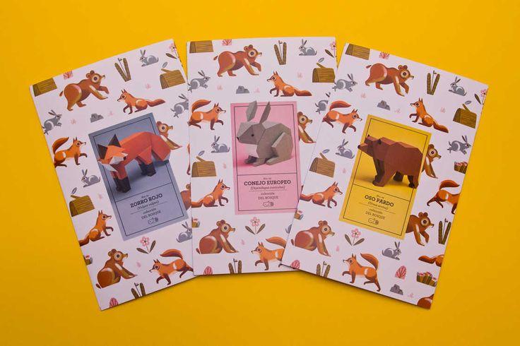 Geometric Animals – Les nouvelles créations de Guarda Bosques (image)