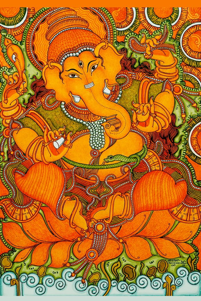 778 best art kerala mural paintings images on pinterest for A mural painting