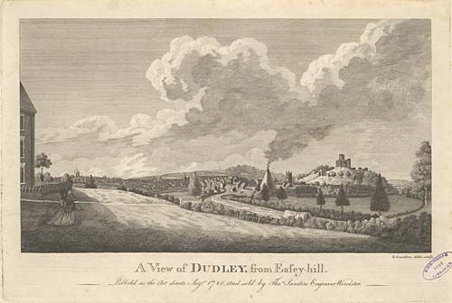A View of Dudley, from Easey-hill