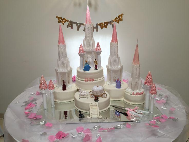 Cinderella castlecake