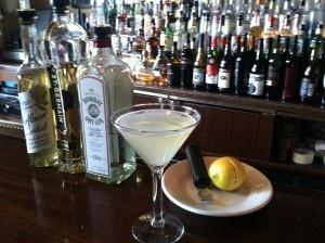 Spring Cocktails-Elderflower Martini and Hibiscus Margarita