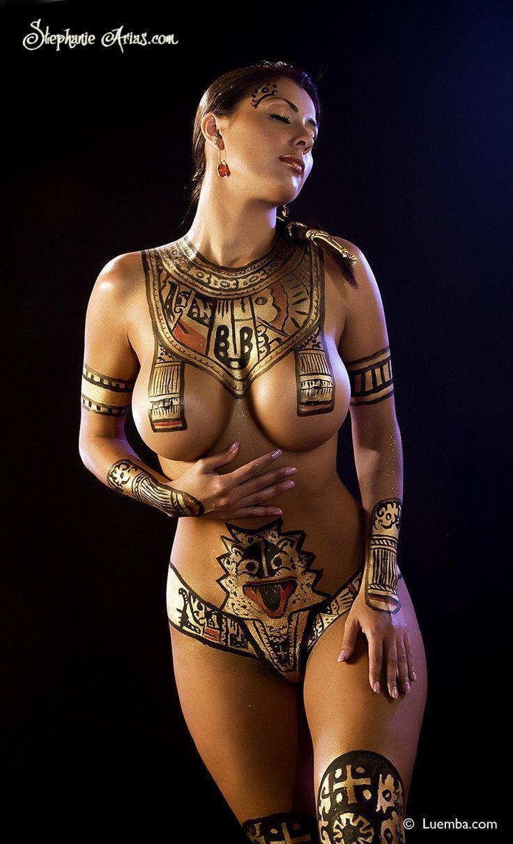 Bath body painting sex