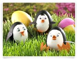 Penguin Easter Eggs