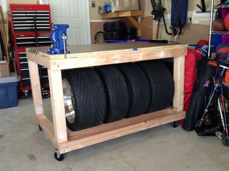 28 best Tire Storage Racks images on Pinterest | Storage ...