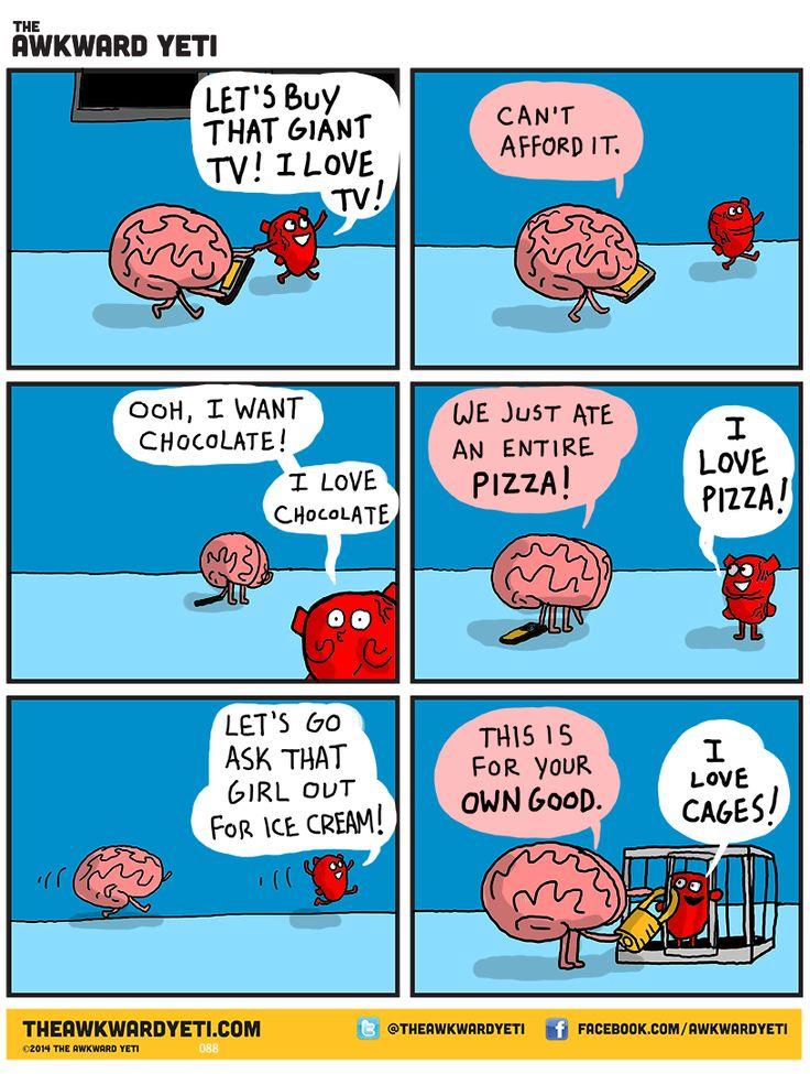 the babysitter. The Awkward Yeti comics