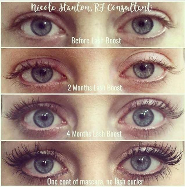 You curl them, crimp them, add extensions, but have you actually tried just feeding them?  That's exactly what our clinically proven Lash Boost does.😎 A daily dose of Keratin, Biotin, Panthenol and Peptides to nourish and protect your lashes (and brows). One swipe each eye before bed, it's that simple!!! 😉😍 Image may contain: one or more people and closeup