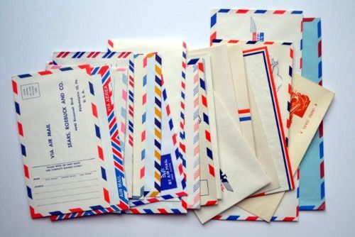 : Letters Writers, Airmail Envelopes, 22 Writing, Air Mail, Letters Writing, Writing Letters, Snails Mail, Beautiful Mail, Love Letters