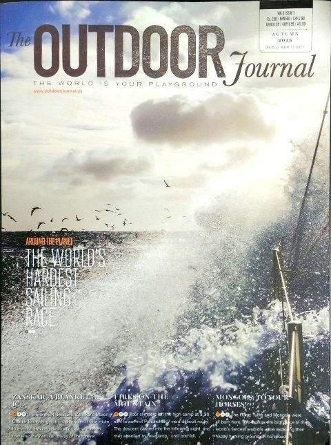 The Outdoor Journal Autumn  Description: The Outdoor Journal (VOL.3 ISSUE 1, Autumn 2015) quarterly print edition showcases the finest writing and photography from the world of adventure sports, fitness, outdoor pursuits, nature and wilderness. buy now:http://bit.ly/2fqZaIO