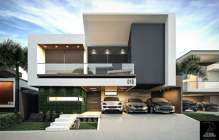 4403 best Modern villas images on Pinterest | Modern homes ... Modern House Design Concrete E A on