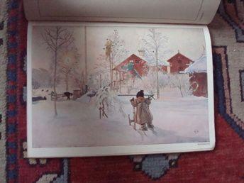 Carl Larsson: Das Haus in der Sonne | Harris Antik och Retro