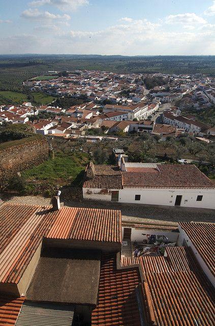 Portel in de District of Évora, Alentejo region_ Portugal