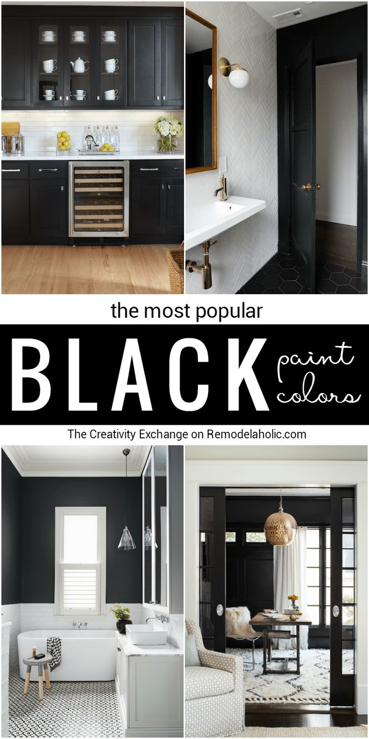most popular black paint colors for walls doors and on most popular wall paint colors id=87065