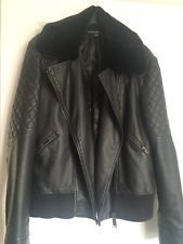 French Connection Ladies Leather jacket size 12