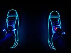 The Neon Converses from Etsy Will Light up the Night Sky #shoes #footwear trendhunter.com