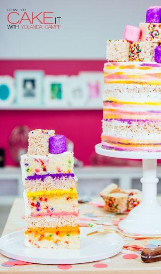 Yolanda Funfetti Cake