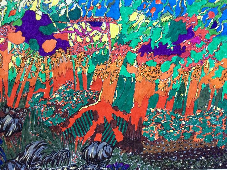 Magical Forest. ( Pen )