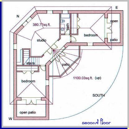 A straw bale house plan butch l 2970 sq ft for Straw bale garage plans