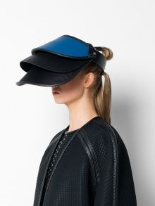 "Three Tier Visor - really?  ""Fashion"" or not, this is just ridiculous."