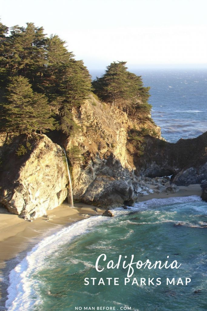 California State Parks Map | A Map to State Parks included in the California Explorer Annual Pass: