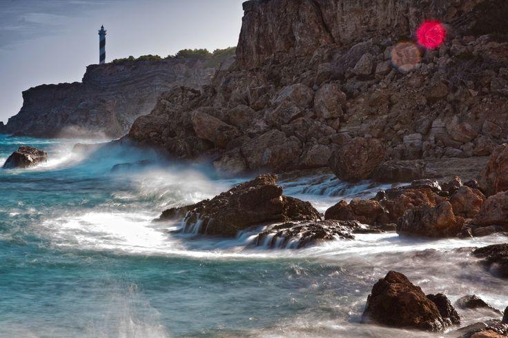 mar, acantilados, rocas, oleaje, peligro, faro, 1706091244