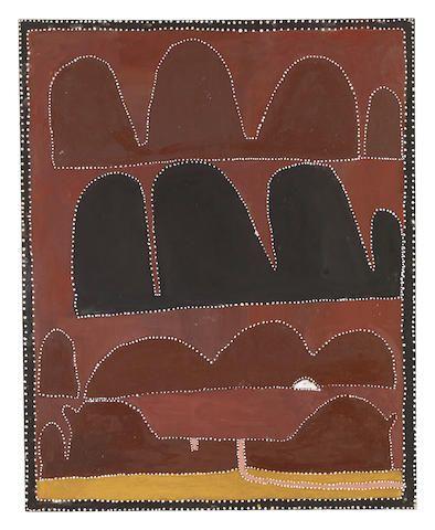 Queenie McKenzie (circa 1930-1998) Texas Downs, 1995