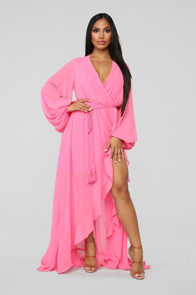 21fabffafc8 Your Highness Maxi Dress - Pink in 2019