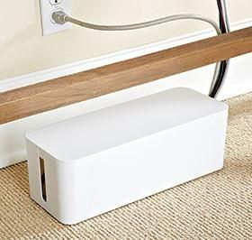 Cable Tidy Box @ Harriet Carter