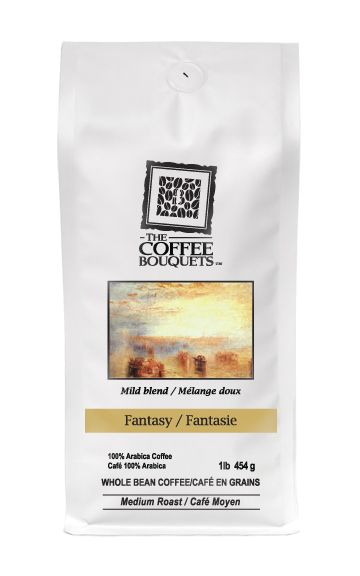Signature Blend Light Roast - Fantasy. Earthy flavours of Sumatra, complemented with Ethiopian richness and crowned with Dominican caramel-fruity undertones, have been harmoniously joined in this delicate roast that creates an atmosphere to savour the moment. This blend is high in caffeine and the cup is moderate in acidity level.