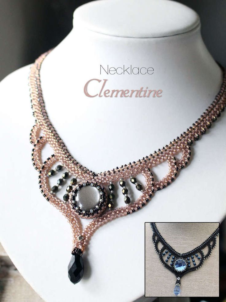 Tutorial for necklace 'Clementine' - English